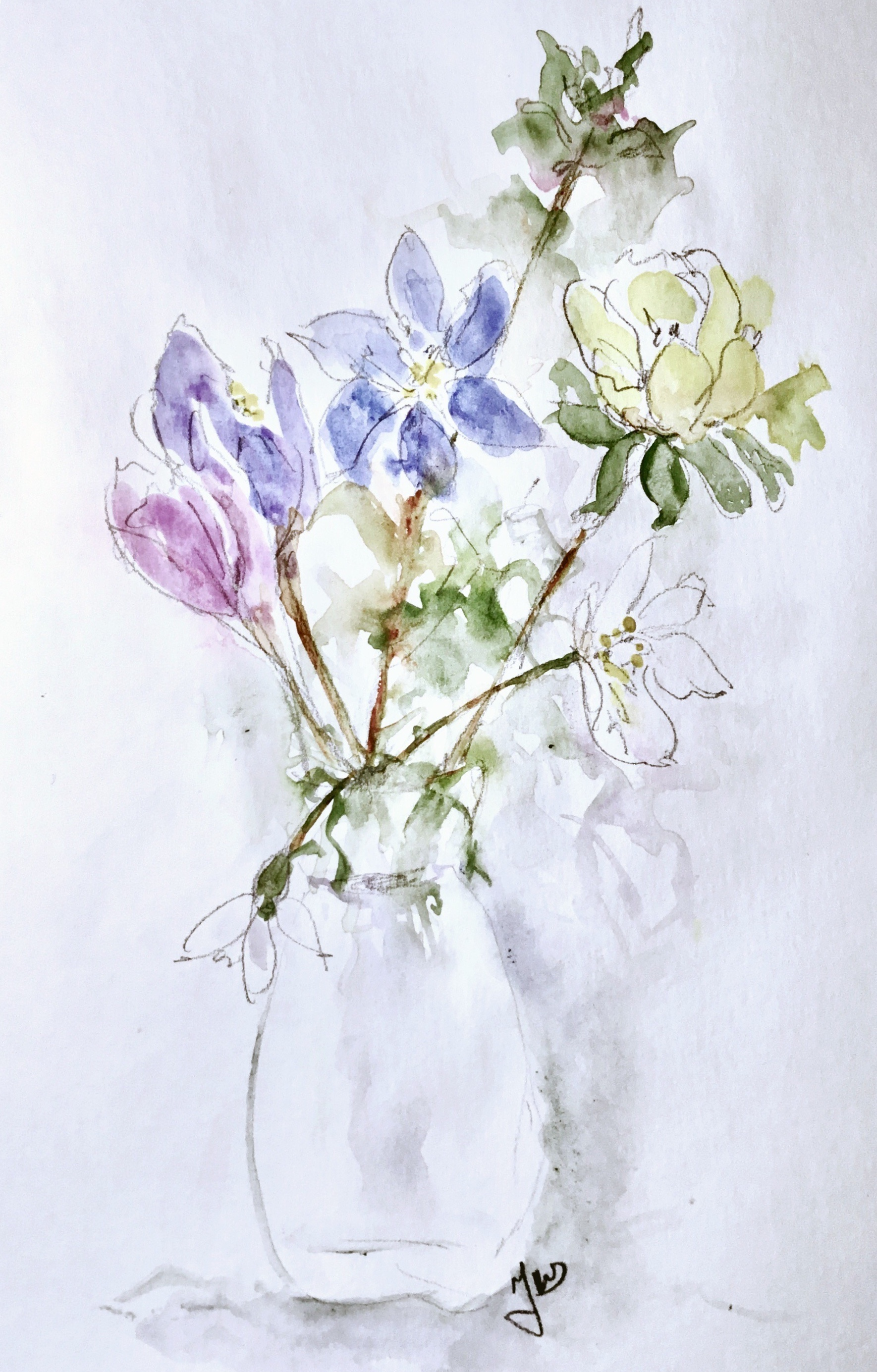 watercolorart from junerydgren.se
